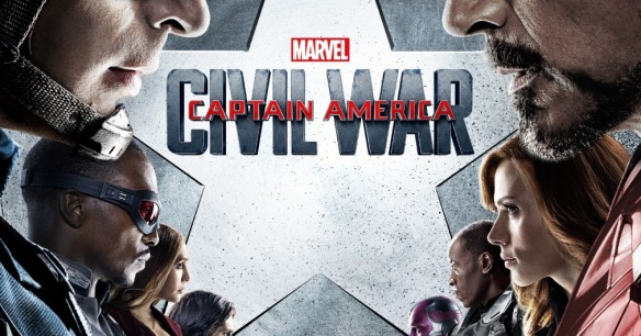 Marvel's Captain America Civil War Final Theatrical One Sheet Movie Poster